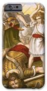 David Slaying Goliath IPhone Case by English School