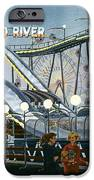 Del Mar Fair At Night IPhone Case by Mary Helmreich