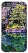 Diablo Lake Reflection IPhone Case by Benjamin Yeager