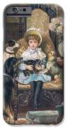 Doddy And Her Pets IPhone Case by Charles Trevor Grand