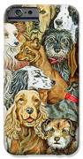 Dog Spread IPhone Case by Ditz