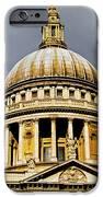 Dome Of St. Paul's Cathedral IPhone Case by Christi Kraft