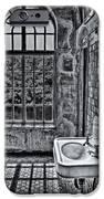 Dormer Bathroom Side View Bw IPhone Case by Susan Candelario