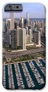 Dusable Harbor Chicago IPhone Case by Steve Gadomski