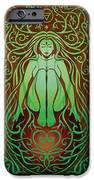Earth Spirit V.2 IPhone Case by Cristina McAllister