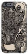 Egypt Walking IPhone Case by Michael Kulick
