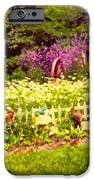 Elna's Garden 2 IPhone Case by Donna Munro