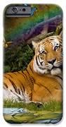 Enchaned Tigress IPhone Case by Alixandra Mullins