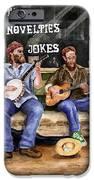 Eureka Springs Novelty Shop String Quartet IPhone Case by Sam Sidders