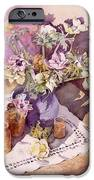 Evening Anemones IPhone Case by Julia Rowntree