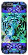 Eyes Of The Bengal Tiger Abstract Window 20130205m80 IPhone Case by Wingsdomain Art and Photography