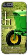 Faith And Hope IPhone Case by Linda Fowler