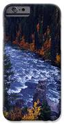 Fall Lined River IPhone Case by Raymond Salani III
