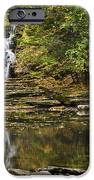 Fall Waterfall Creek Reflection IPhone Case by Christina Rollo