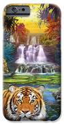 Family At The Jungle Pool IPhone Case by Jan Patrik Krasny
