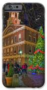 Faneuil Hall Night IPhone Case by Joann Vitali