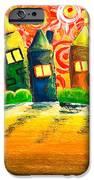 Fantasy Art - The Village Festival IPhone Case by Nirdesha Munasinghe