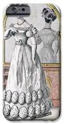 Fashion Plate Of A Lady In Evening IPhone Case by English School