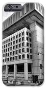 Fbi Building Rear View IPhone Case by Olivier Le Queinec
