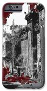 Film Homage D.w. Griffith Intolerance 1916 Fall Of Babylon 1916-2012  IPhone Case by David Lee Guss