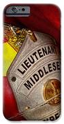 Fireman - Hat - Everyone Loves Red IPhone Case by Mike Savad