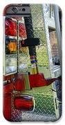 Fireman Keep Back 300 Feet IPhone Case by Paul Ward