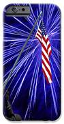 Fireworks At Iwo Jima Memorial IPhone Case by Francesa Miller
