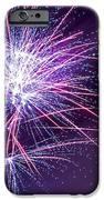 Fireworks - Purple Haze IPhone Case by Scott Lyons