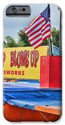 Fireworks Stand IPhone Case by Cathy Anderson