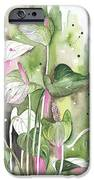 Flower Anthurium 04 Elena Yakubovich IPhone Case by Elena Yakubovich