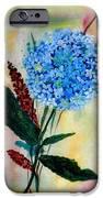 Flower Decor IPhone Case by Nirdesha Munasinghe
