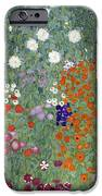 Flower Garden IPhone Case by Gustav Klimt