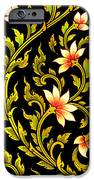 Flower Images Artistic From Thai Painting And Literature IPhone Case by Pakorn Kitpaiboolwat