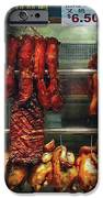 Food - Roast Meat For Sale IPhone Case by Mike Savad
