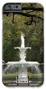 Forsyth Park Fountain - D002615 IPhone Case by Daniel Dempster