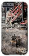 Foundry Worker IPhone Case by Adrian Evans