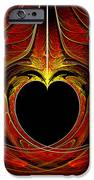 Fractal - Heart - Victorian Love IPhone Case by Mike Savad