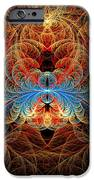 Fractal - Insect - Black Widow IPhone Case by Mike Savad