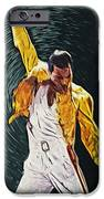 Freddie Mercury IPhone Case by Taylan Soyturk