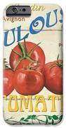 French Veggie Sign 3 IPhone Case by Debbie DeWitt