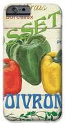 French Veggie Sign 4 IPhone Case by Debbie DeWitt