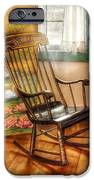 Furniture - Chair - The Rocking Chair IPhone Case by Mike Savad