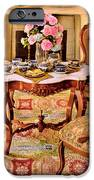 Furniture - Chair - The Tea Party IPhone Case by Mike Savad