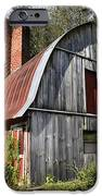 Gambrel-roofed Barn IPhone Case by Paul Mashburn