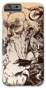 gandalf- Tolkien appreciation IPhone Case by Derrick Higgins