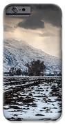 Gathering Winter Storm - Utah Valley IPhone Case by Gary Whitton