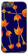 Gemini Constellation Composed By Maple Leaves IPhone Case by Paul Ge
