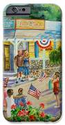 General Store After July 4th Parade IPhone Case by Jan Mecklenburg