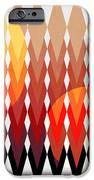 Geometric Fun IPhone Case by Mark Ashkenazi