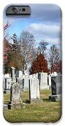 Gettysburg National Cemetery IPhone Case by Brendan Reals